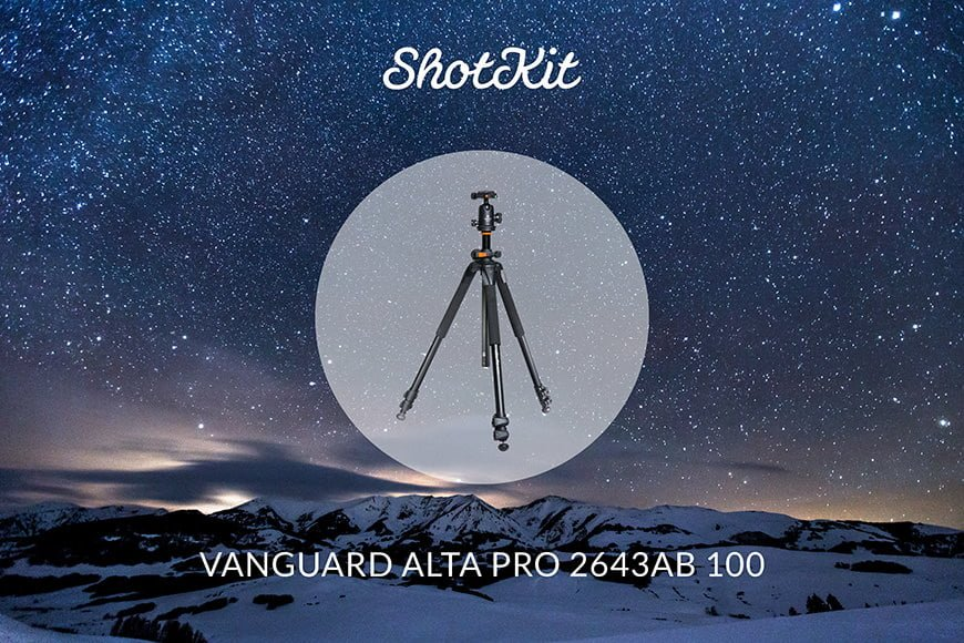 Best Travel Tripods - Vanguard Alta Pro 2643AB 100