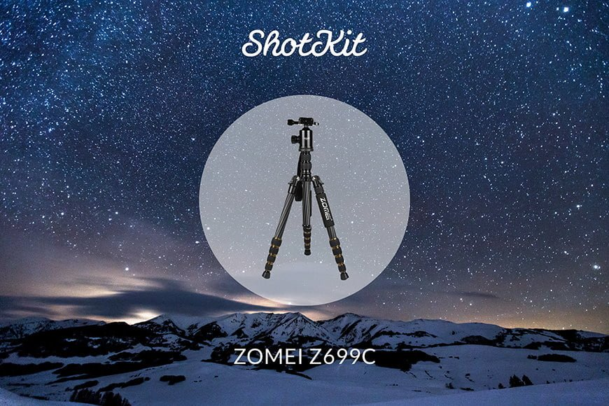 Best Travel Tripods - ZOMEI Z699C