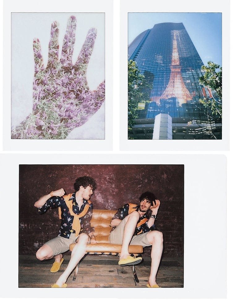 Fuji Instax Mini 90 Neo Classic double exposure