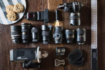 Hoffer photography gear