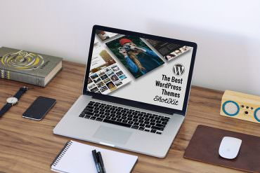 Wordpress themes for photographers main image for Shotkit