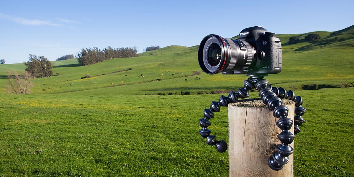 one of the best travel tripods - the Joby Gorillapod