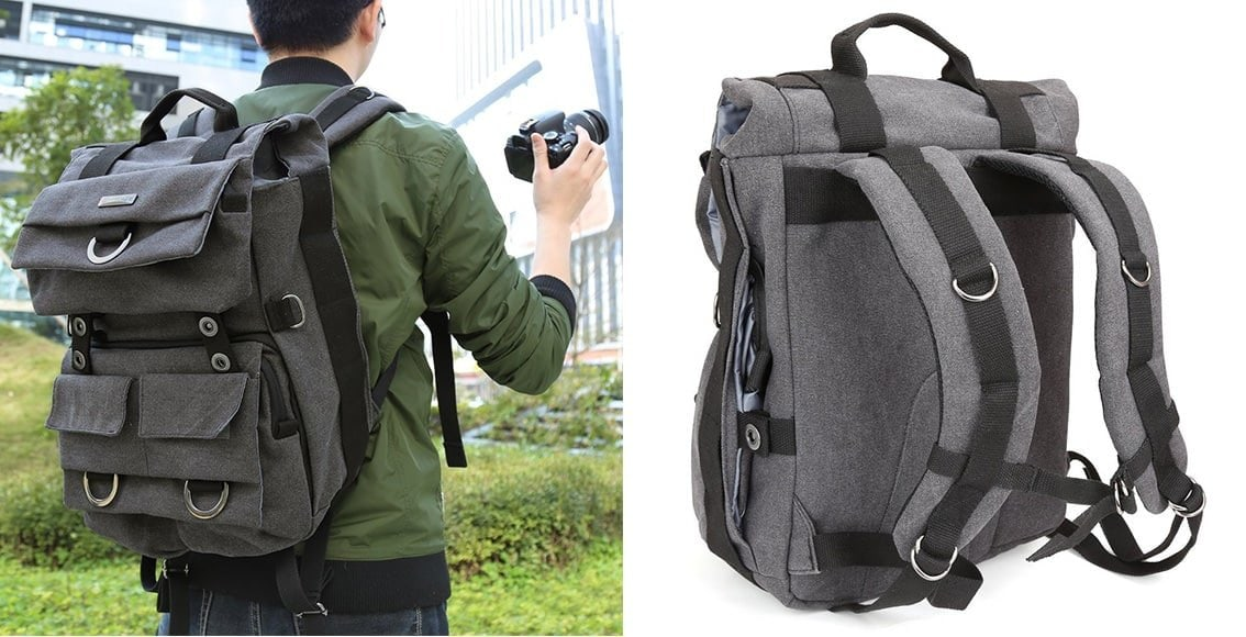 stylish and affordable camera backpack
