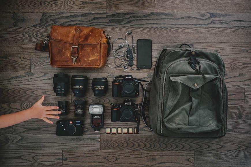 Mirrorless camera and dlsr camera usage