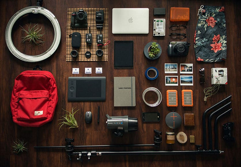 Photography equipment of Luke Fontana for Shotkit