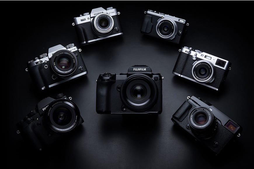 The range of Fuji X series mirrorless cameras offer firmware upgrades that add new features or improve existing ones.