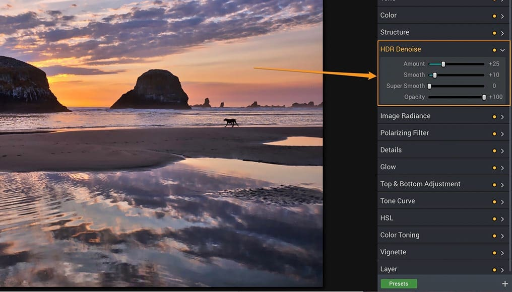 HDR Photography Tutorial - Denoise