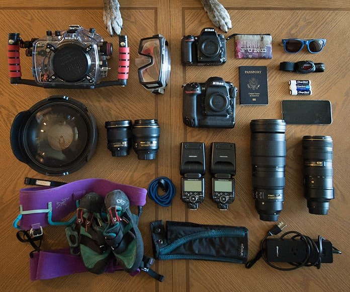 wildlife photographer camera gear