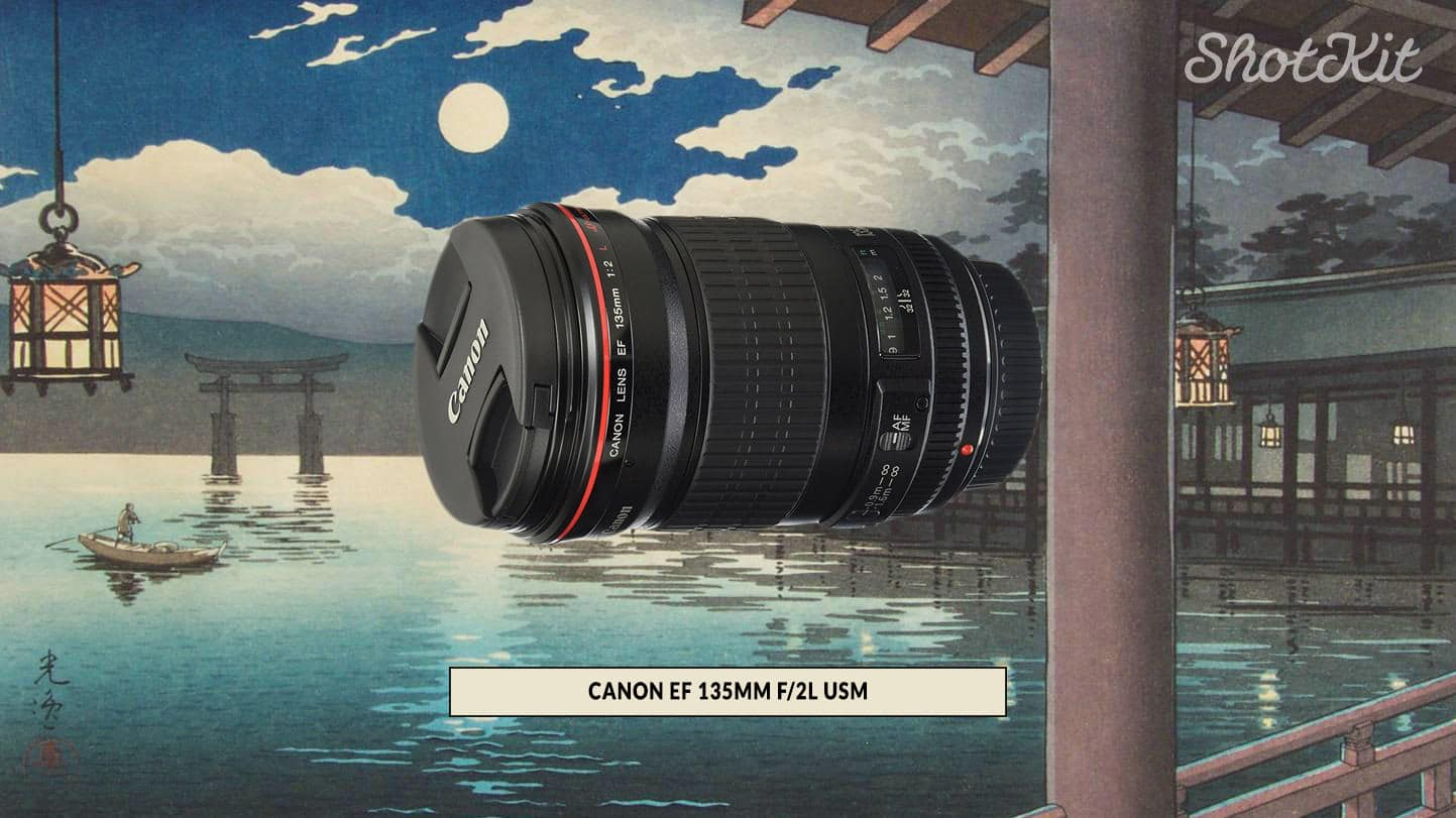 Canon EF 135mm f2L USM review