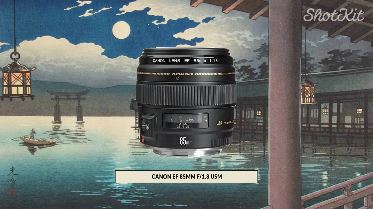 EF 85mm f/1.8 USM review - no macro lens but can go close up