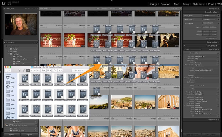 How to install Lightroom presets