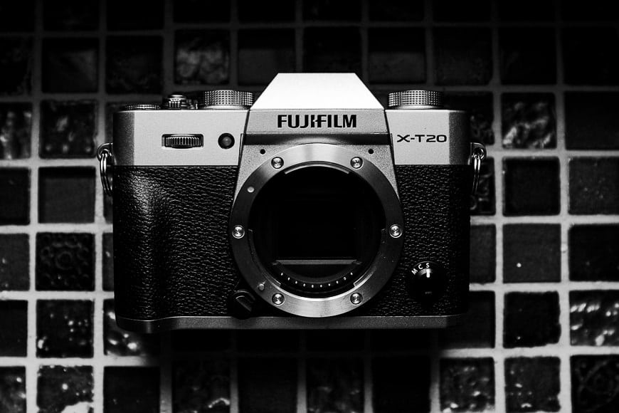 Fuji X-T20 review - photo of the camera body