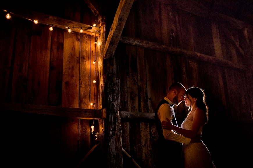 Wedding Photography Lighting Techniques Example