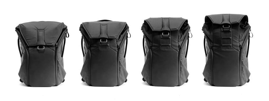 peak design everyday camera backpack black