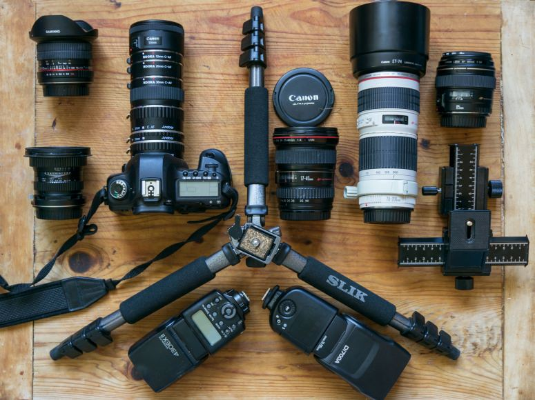landscape photographer camera gear