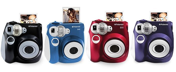 Polaroid 300 instant camera colours