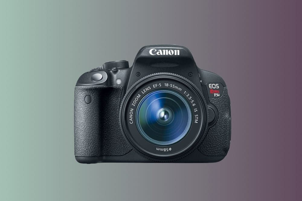 Canon T5i cheap dslr camera