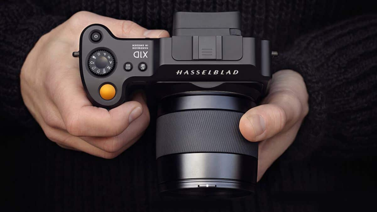 Hasselblad X1D-50c Review - ergonomics
