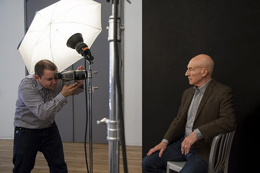 Rory Lewis Session with Sir Patrick Stewart