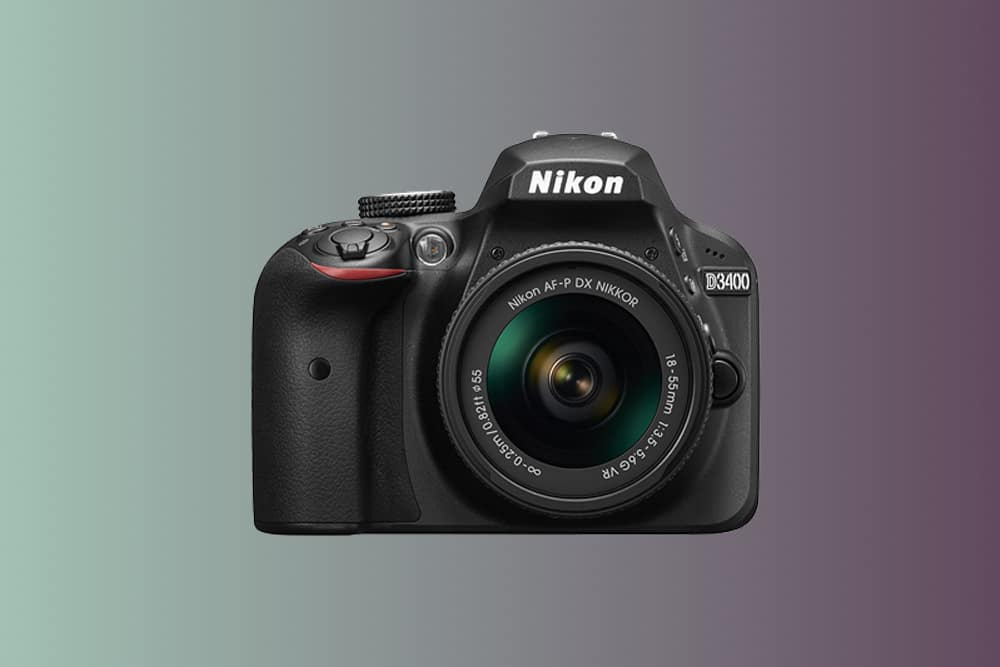 Nikon d3400 best cheap dslr camera