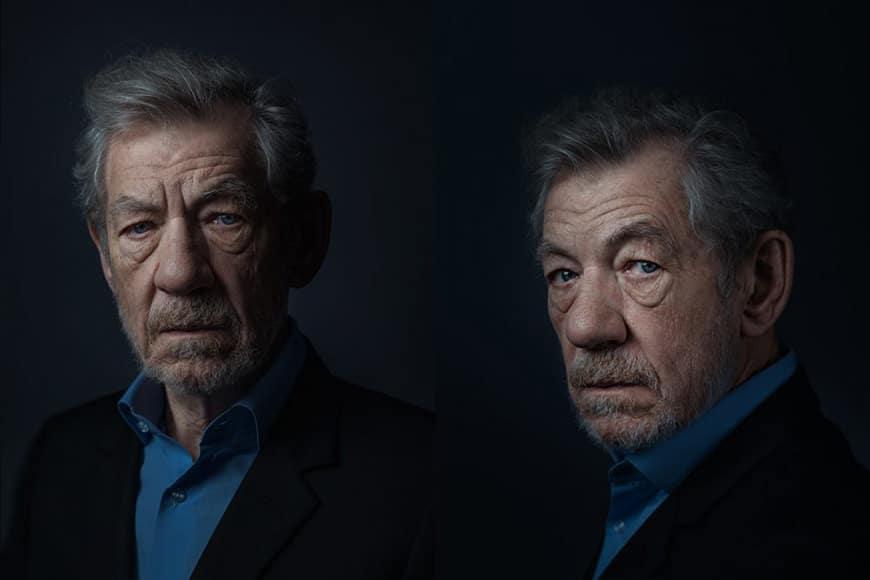 Sir Ian McKellen headshot
