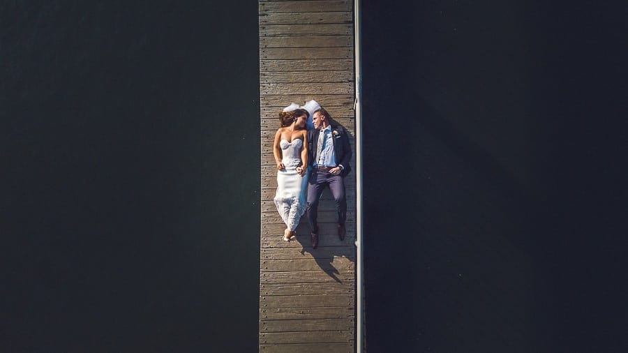 Mavic Pro for wedding photography