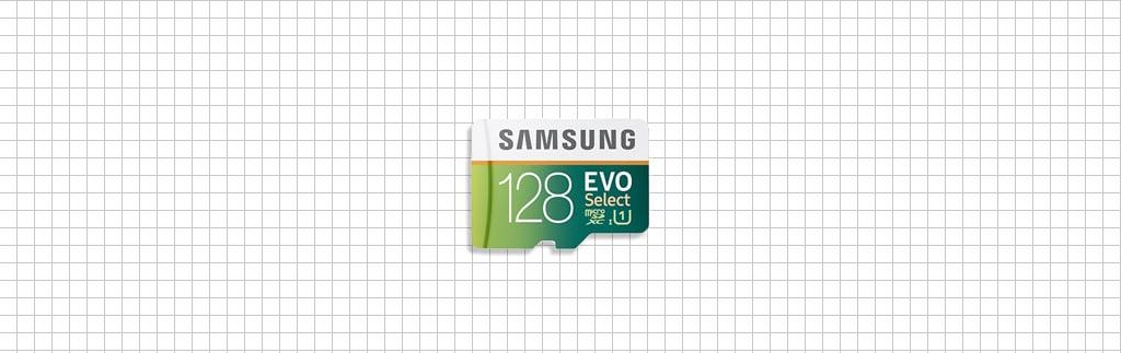 128GB MicroSD memory card