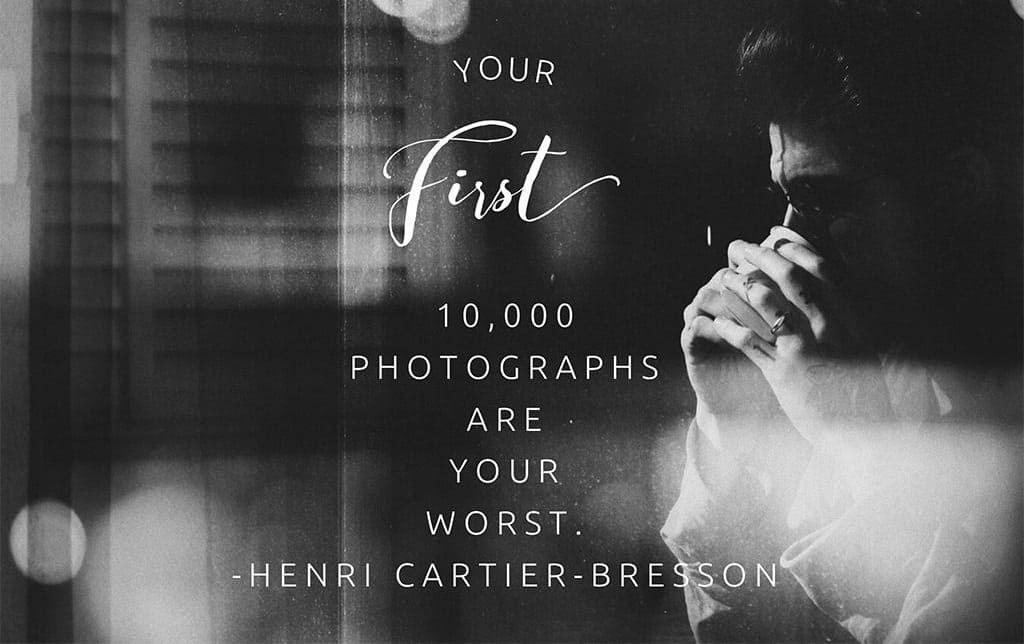 Cartier bresson quote