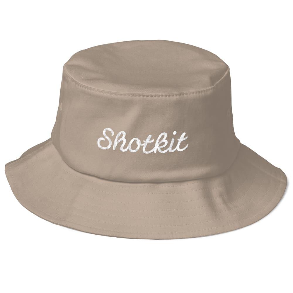 Shotkit logo bucket hat