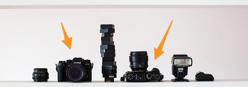 Fujfilm Xt2 mirrorless cameras for weddings