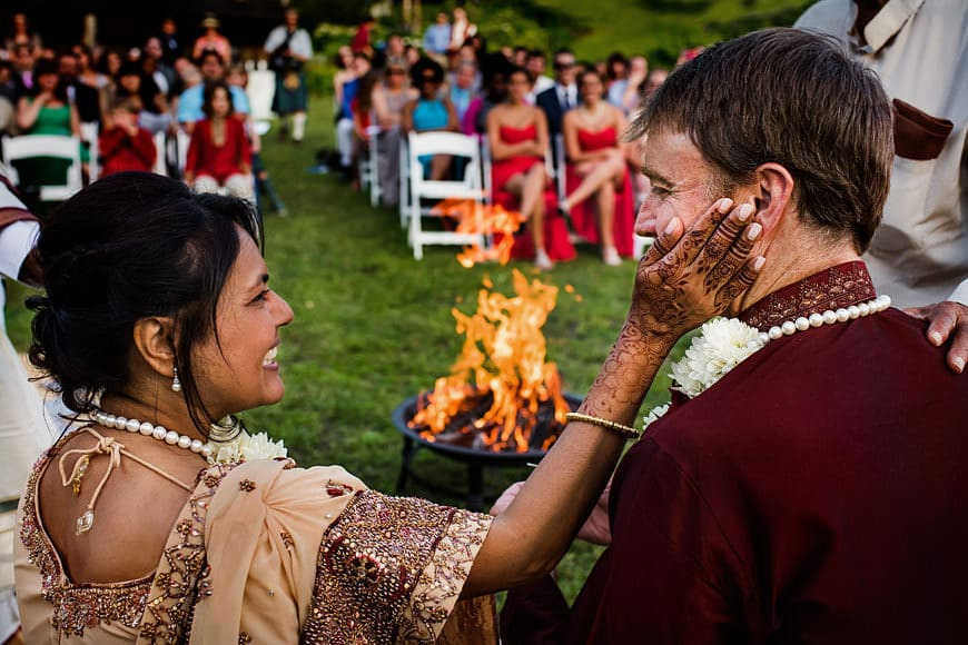 Shalini and Joe's wedding at The Ponds at Bolton Valley on Saturday, June 20, 2015.