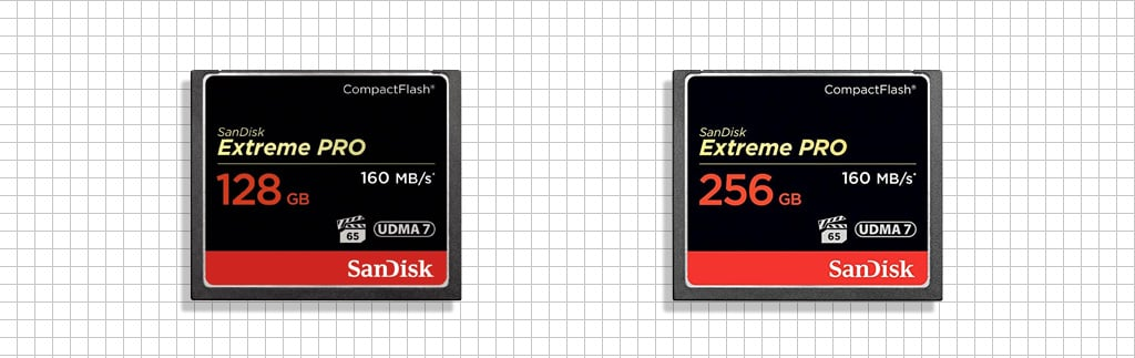 Large Capacity Compact Flash memory card