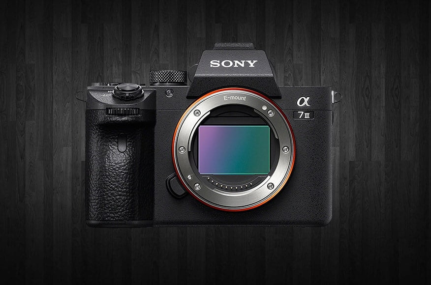 Sony a7III mirrorless camera copy