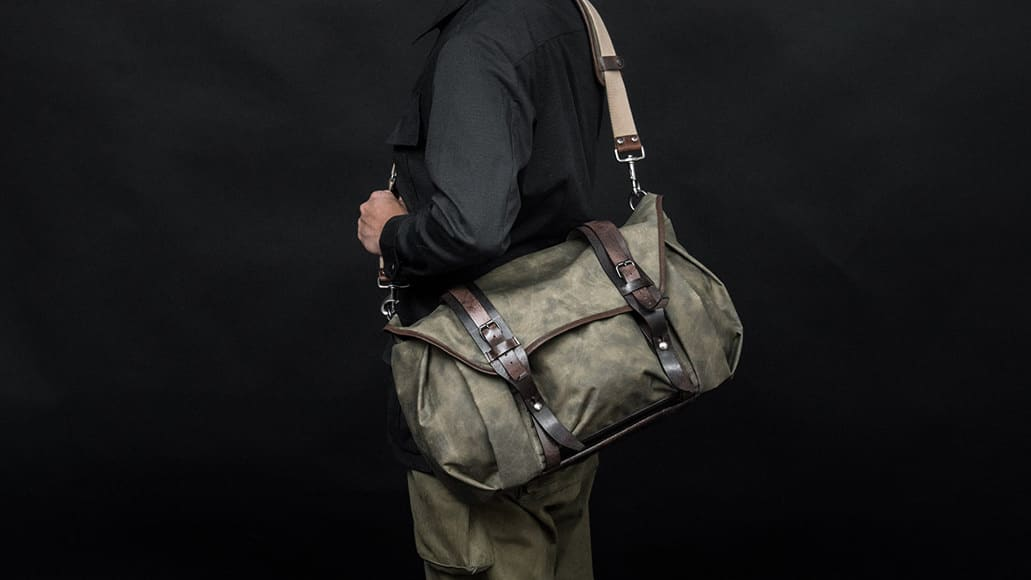5075eda4b6 Wotancraft Trooper Shoulder Bag