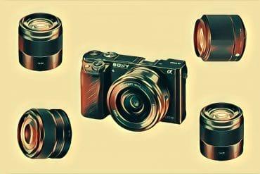 best sony a6300 lenses