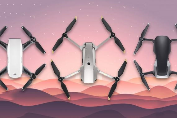 dji spark vs mavic pro vs mavic air