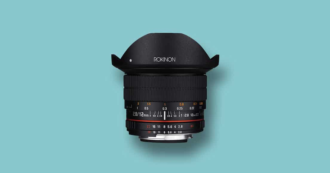Rokinon 12mm f/2 micro four third lenses wide-angle