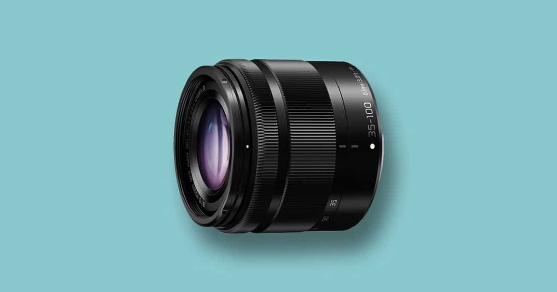 Panasonic 35-100mm mft zoom lens
