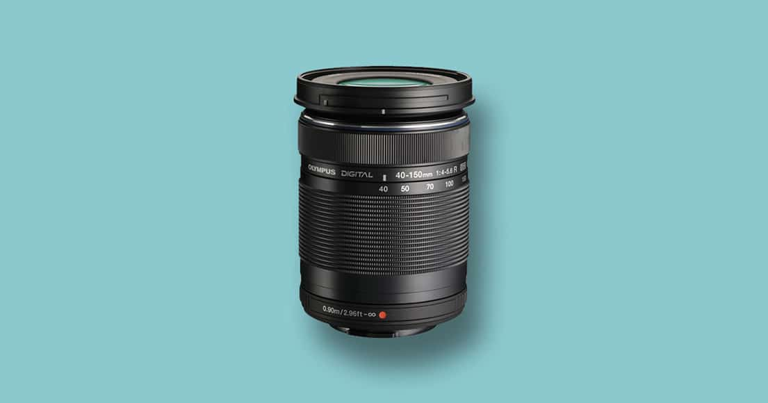 Olympus 40-150mm f/4-5.6 mft telephoto lens