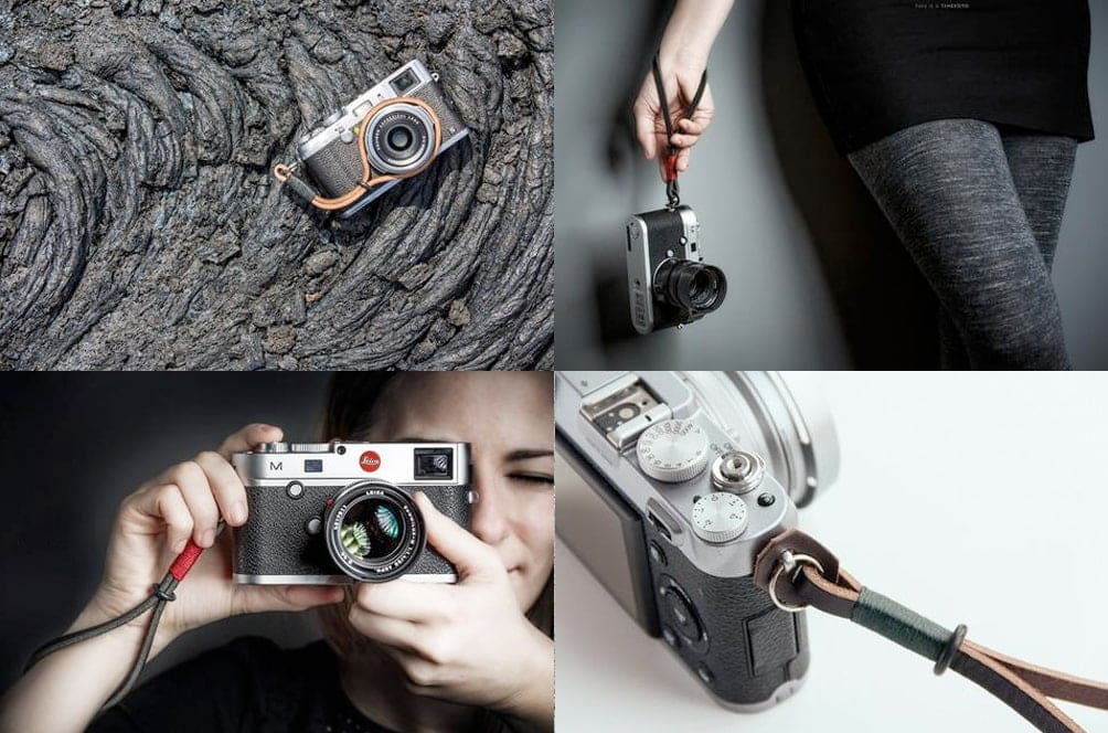 Gordy camera wrist strap - recommended leather strap options