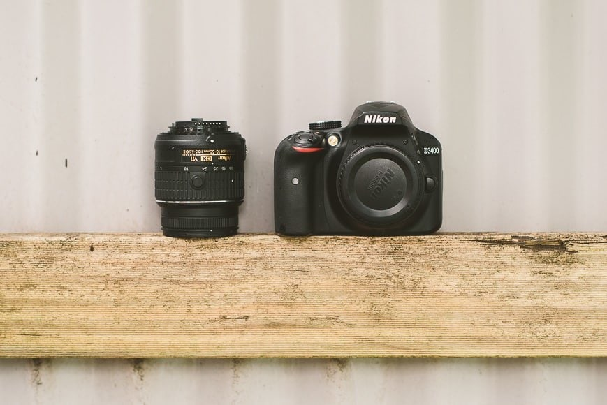 Nikon D3400 review for Shotkit