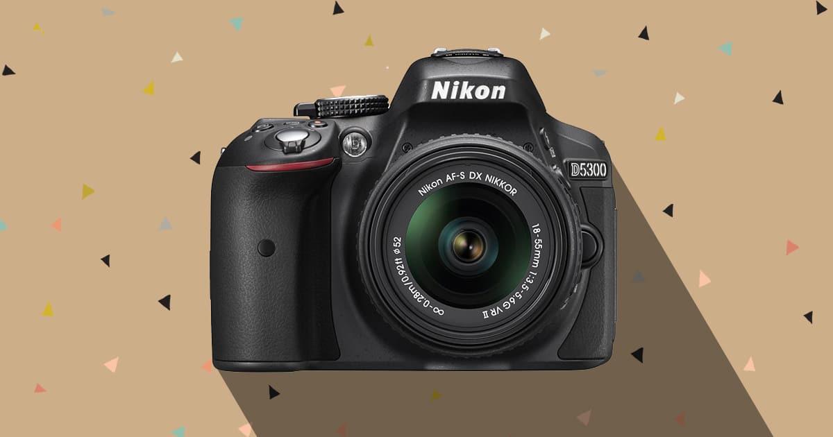 Nikon D5300 best DSLR under 500