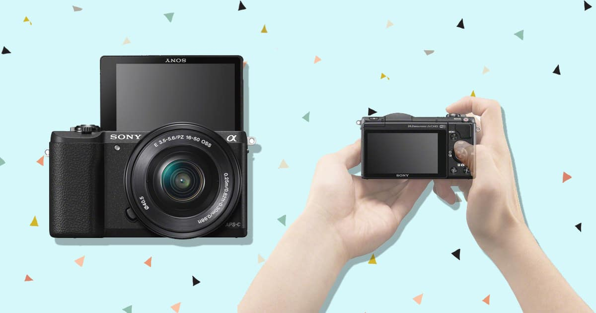Sony a5100 mirrorless camera under 500 1