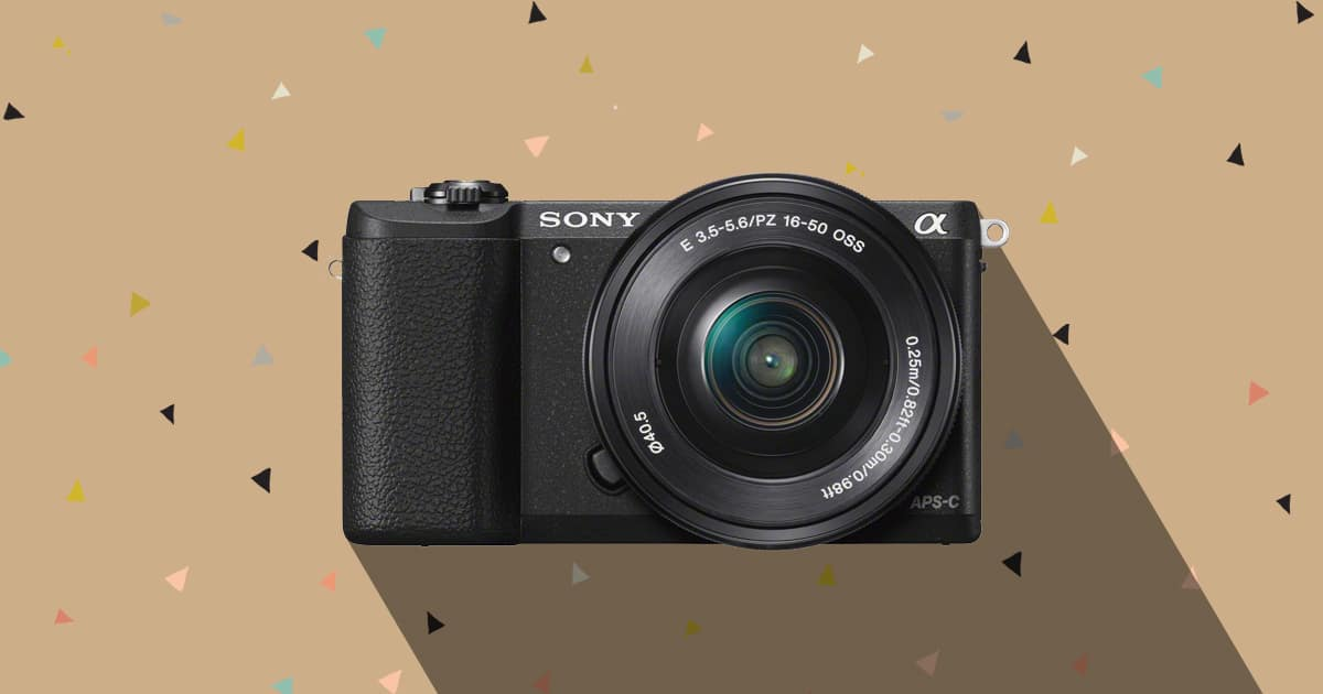 Sony a5100 mirrorless camera under 500