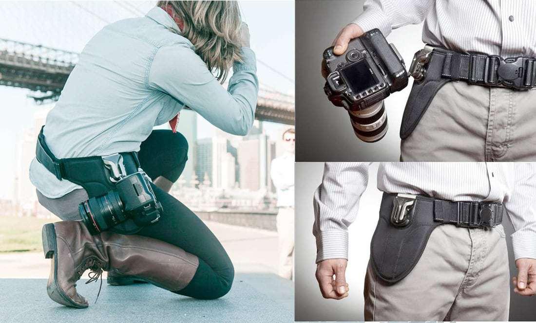 spider camera strap holster