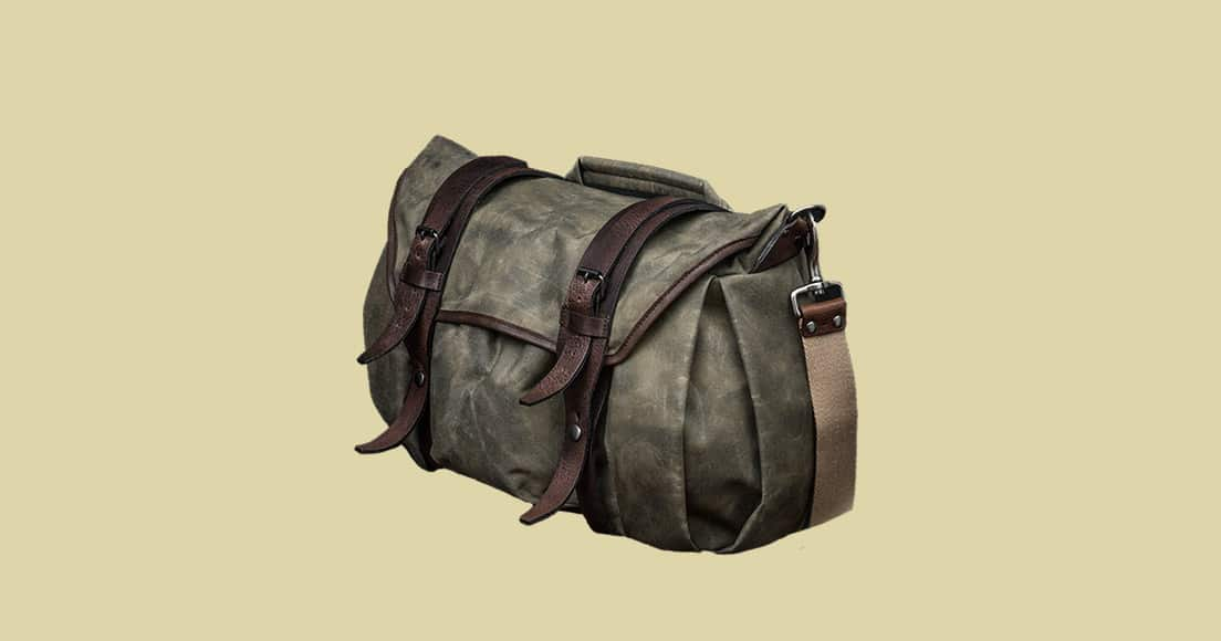 Wotancraft Trooper Camera Shoulder Bag