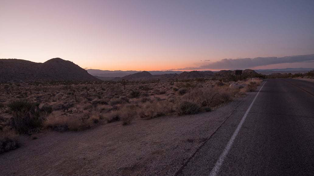 Joshua Tree road - Fujifilm GFX - Mark Condon