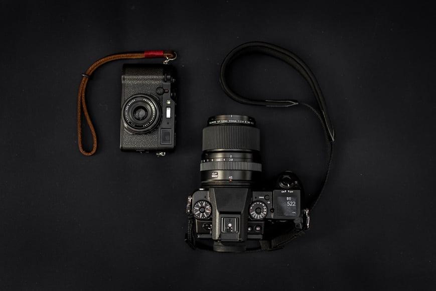Fujifilm X100F | Fujifilm GFX 40C + Fujifilm 45mm f/2.8R