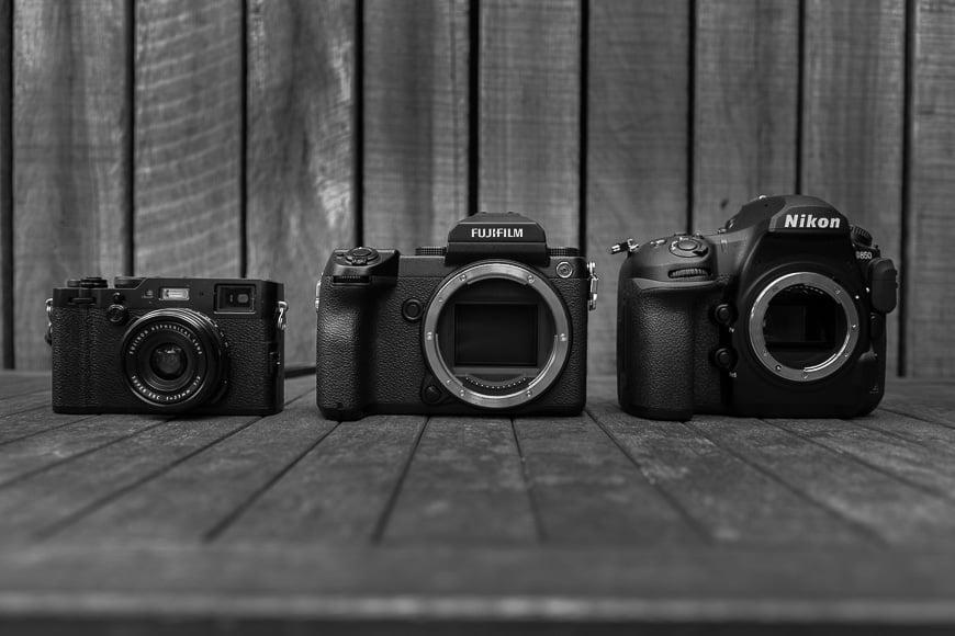 Fujifilm GFX 50S size comparison