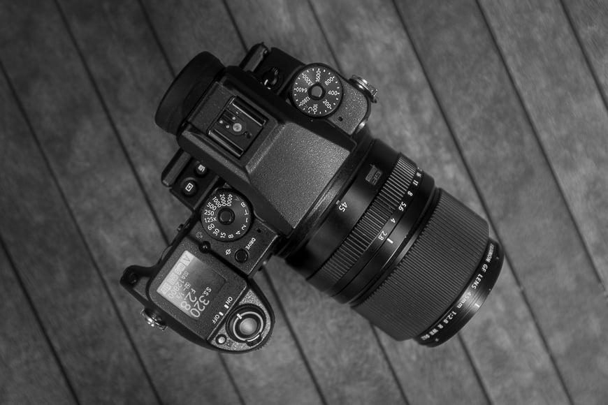 Fujifilm GFX 40C + Fujifilm 45mm f/2.8R